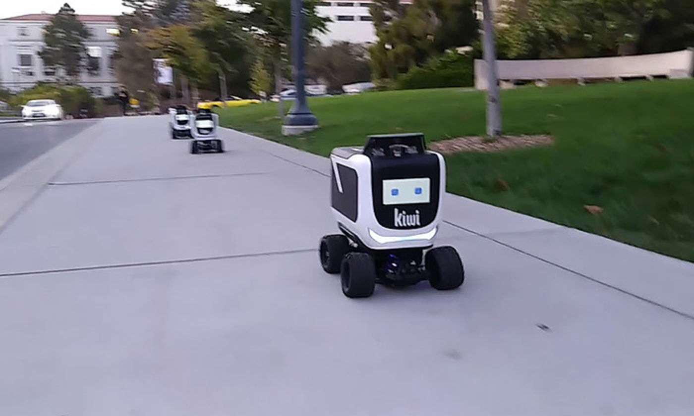 <p>Awwww, cute! The Kiwibot food delivery robot. <em>Photo courtesy Kiwibot</em></p>