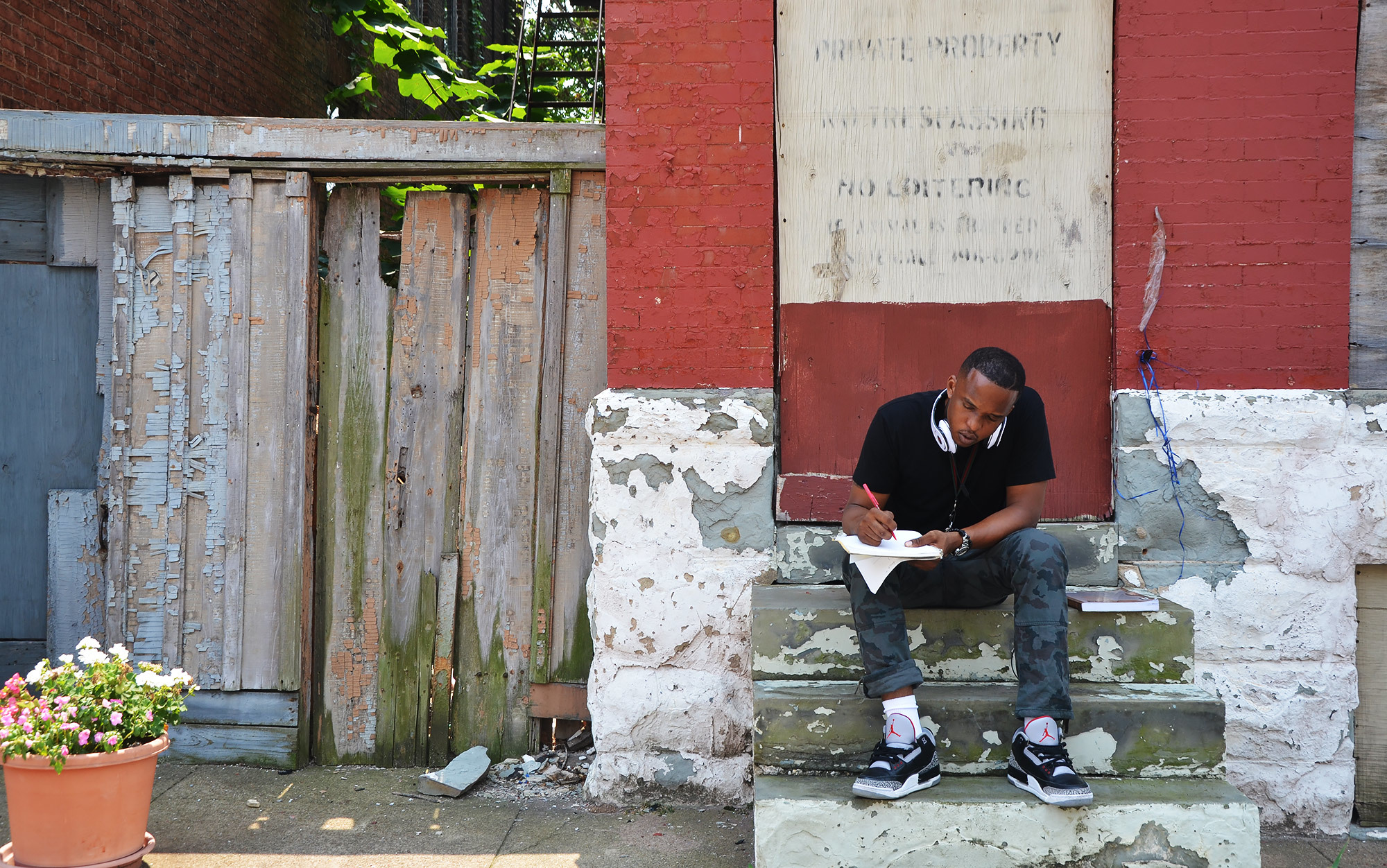 These are my two Baltimores, black and white – D Watkins