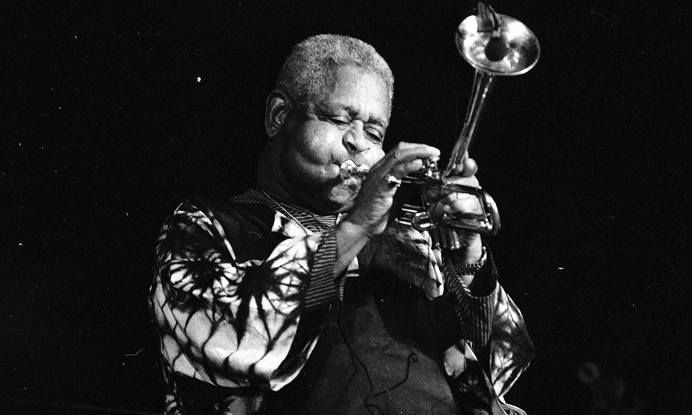 <p>Well improvised; Dizzy Gillespie at Deauville, France in 1991. <em>Courtesy Wikipedia</em></p>