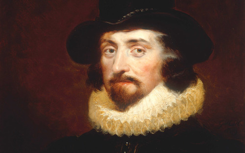 Card sir francis bacon