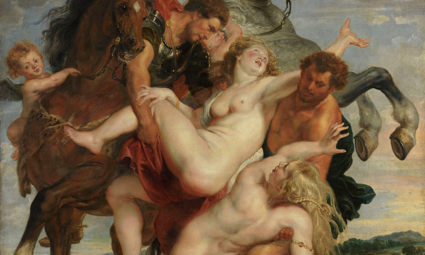 <p><em>The Rape of the Daughters of Leucippus</em> (<em>c</em>1618) by Peter Paul Rubens. <em>Alte Pinakothek/Wikimedia</em></p>