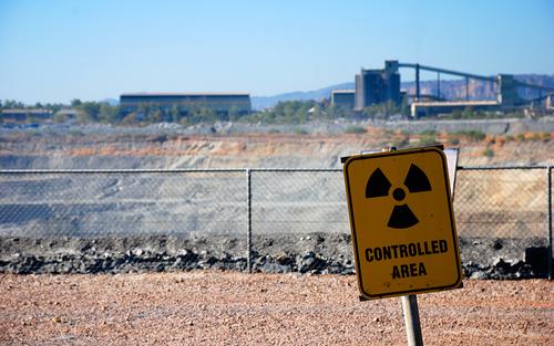 Card sized alberto otero garcia ranger uranium mine