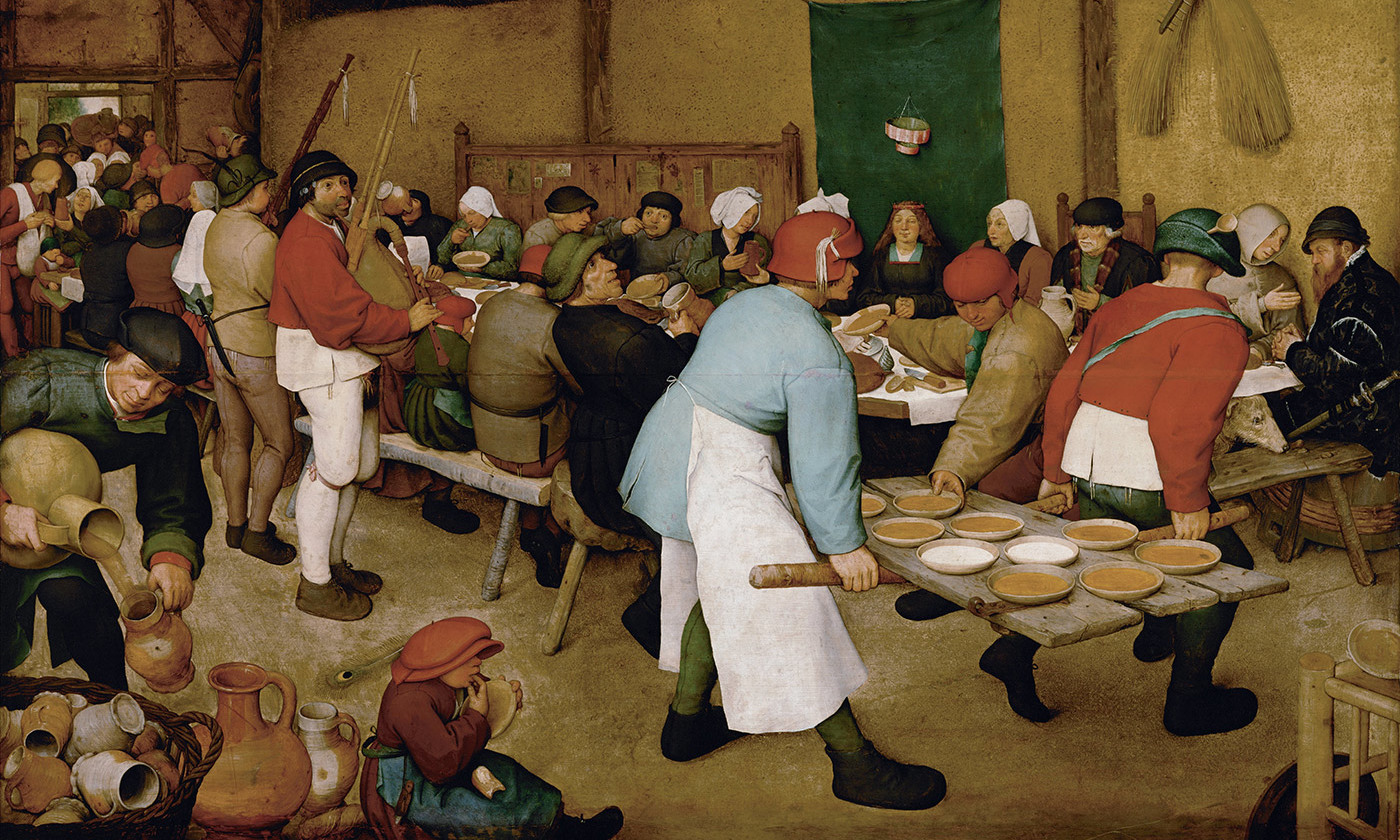 <p><em>Peasant Wedding</em>, 1567, by Pieter Bruegel the Elder. Kunsthistorisches Museum, Vienna/Wikimedia</p>