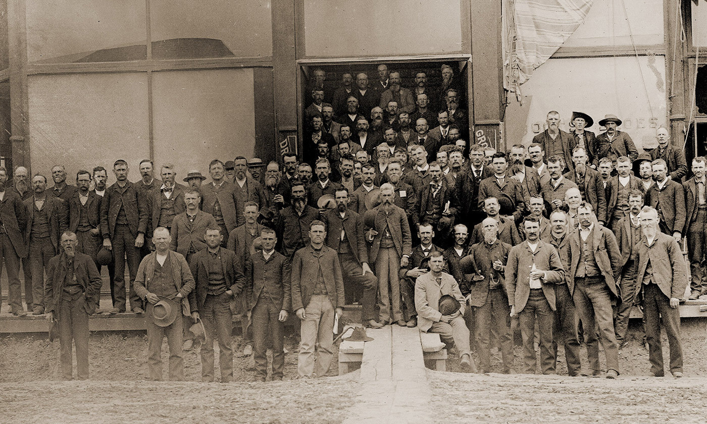 People's Party candidate nominating convention held at Columbus, Nebraska, 15 July 1890. <em>Courtesy Wikipedia</em>