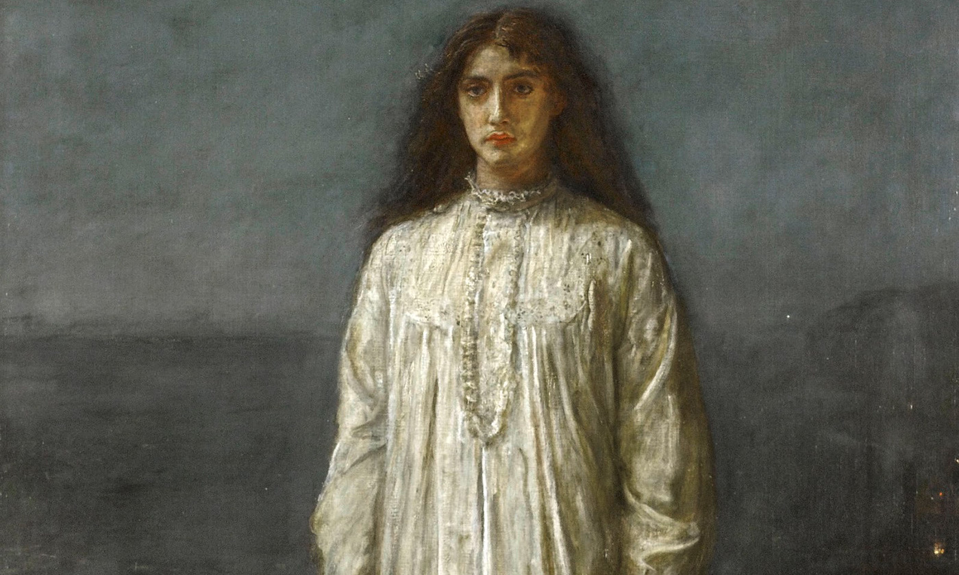 John Everett Millais <em>The Somnambulist</em>. <em>Photo by Wikimedia</em>