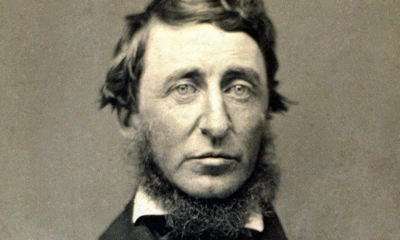 Thoreau in 1856/Wikimedia