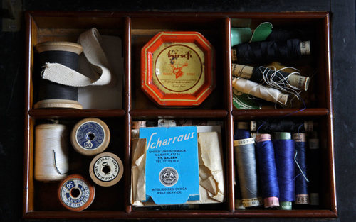 Card sewing kit