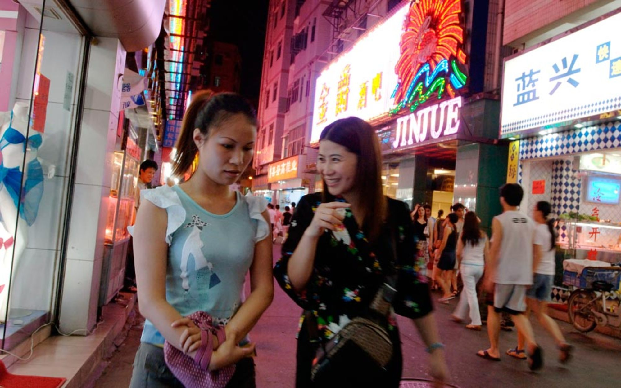 why do young rural women in china become mistresses