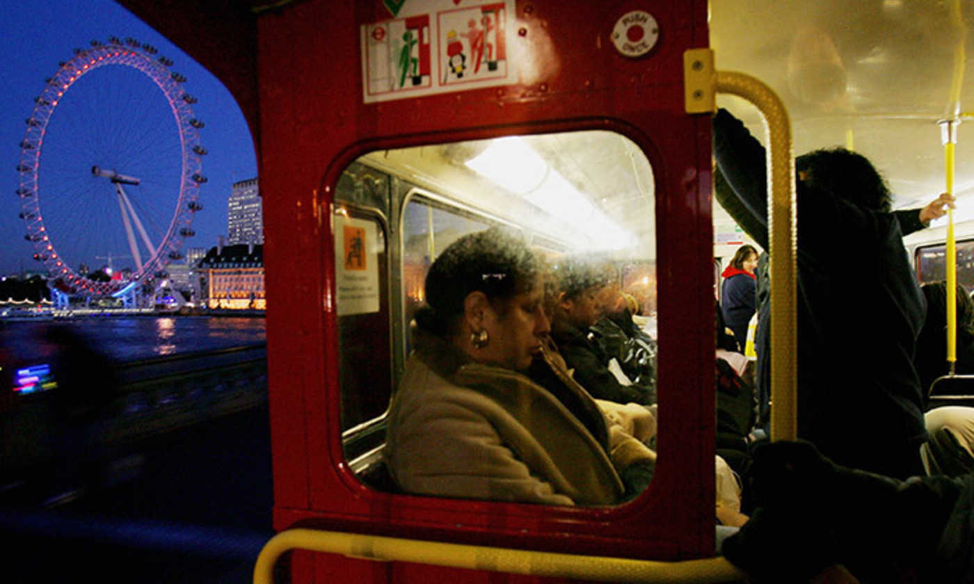 <p>Reasonable passengers aboard the Clapham Omnibus. <em>Photo by Daniel Berehulak/Getty Images</em></p>