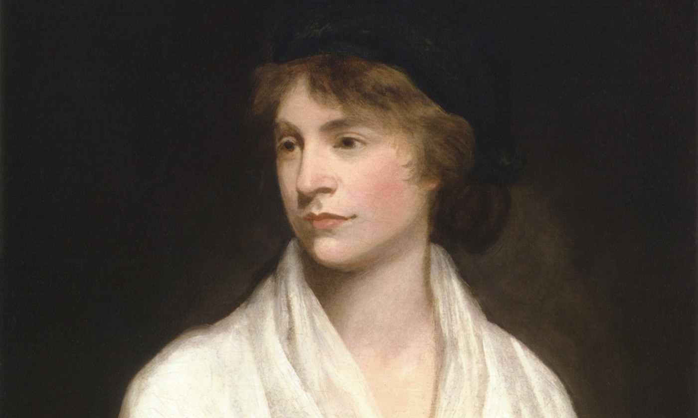 <p>Mary Wollstonecraft (<em>c</em>1797), by John Opie. <em>Photo courtesy Wikipedia</em></p>