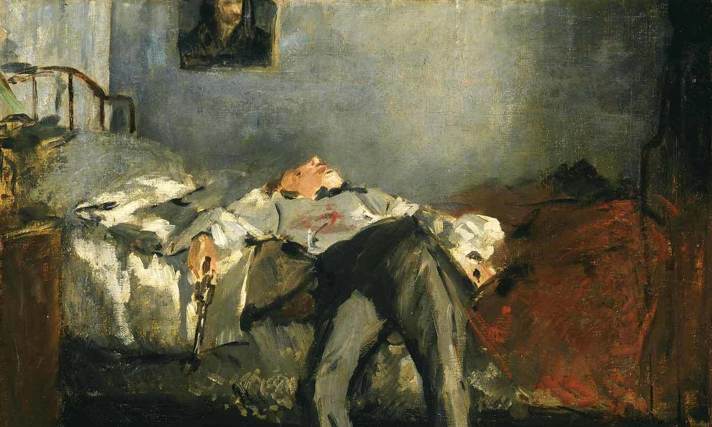 "<p>Detail of <em>The Suicide</em> (<em>c</em>1877), by Edouard Manet. <em>Courtesy of the </em><a href=""https://www.buehrle.ch/en/""><em>Emil Bührle Collection</em></a><em>/Zurich</em></p>"