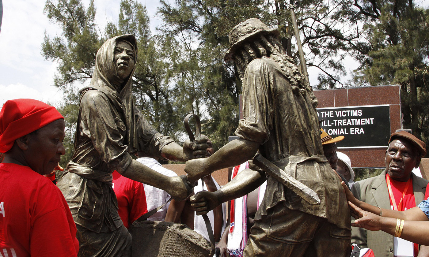Unusually, the British government issued an apology for abuses during the so called Mau Mau uprising in Kenya: 'The British government recognises that Kenyans were subjected to torture and other forms of ill-treatment at the hands of the colonial administration.' <em>Photo by Rex</em>