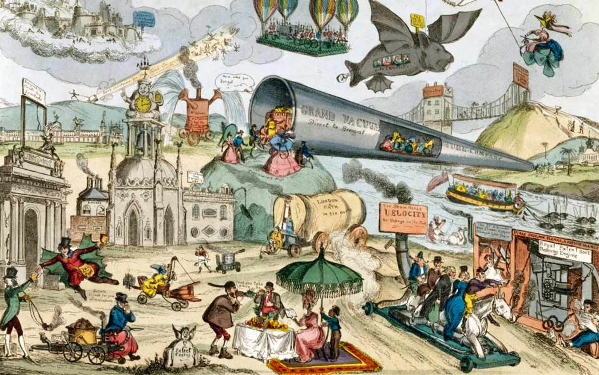 how the victorians invented the future for us essays
