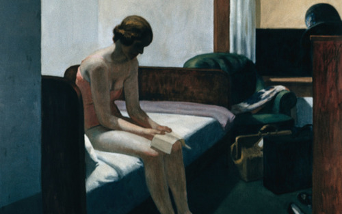 Card hotel room hopper 1931