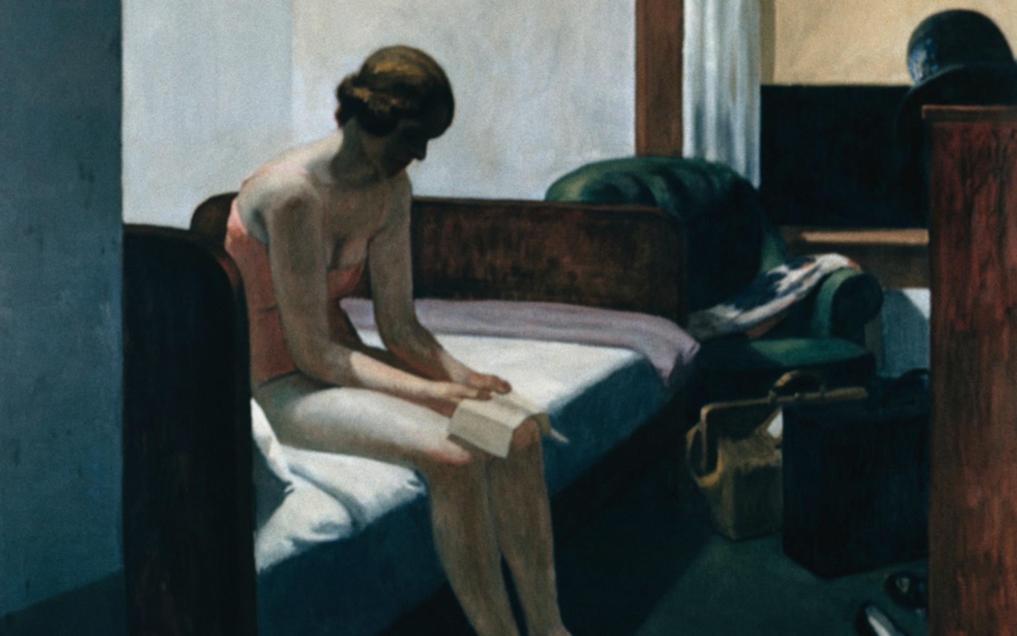Header hotel room hopper 1931