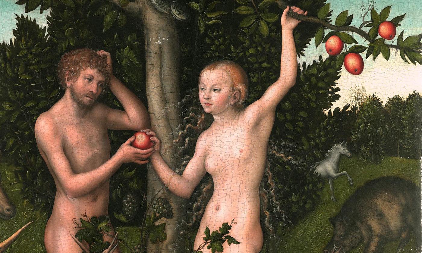 Oh, go on ... <em>Adam and Eve</em> (1526) by Lucas Cranach the Elder. <em>Courtesy Wikipedia</em>