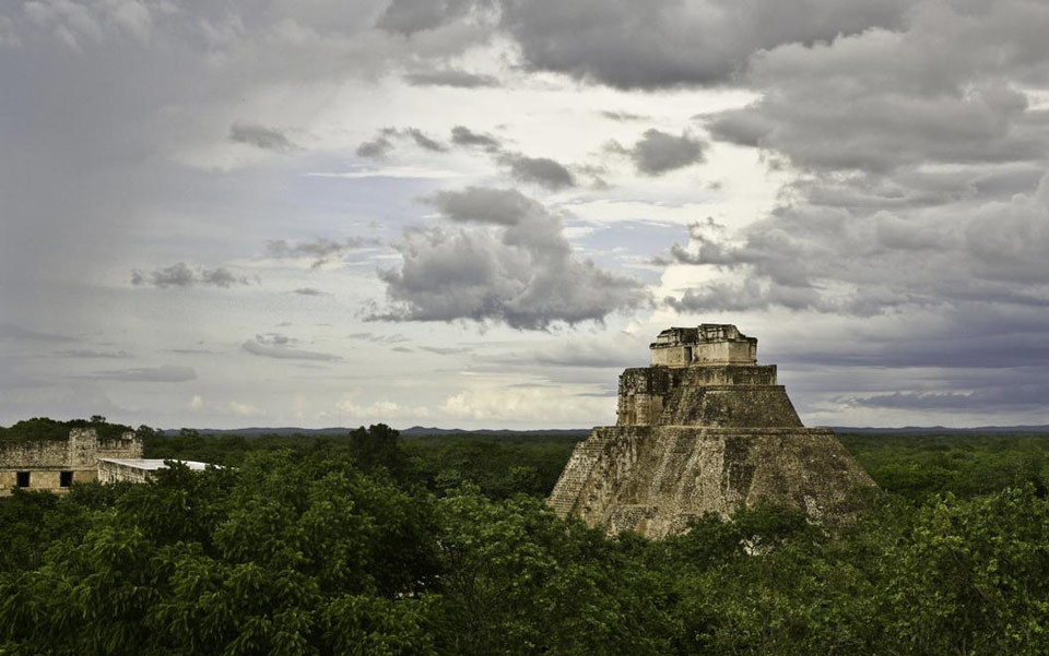 Ancient Maya temple ruins in Uxmal, Yucatan, Mexico. Photo by Steve McCurry/Magnum